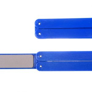 Eze-lap Super Fine Grit (1200) - Blue Handle Folding Eze-Fold Sharpener